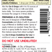 NZYMES Ox-E-Drops for People Directions