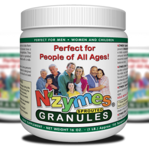 NZYMES Sprouted Granules for People 1lb
