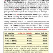 NZYMES Antioxidant Treats L Panel