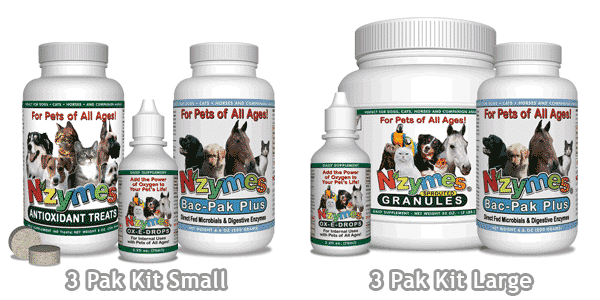 NZYMES Large and Small 3-Pak Kits