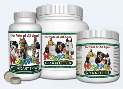 Nzymes Antioxidants for Pets