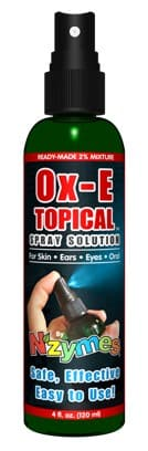 Ox-E Topical Spray Solution for Skin & Eyes
